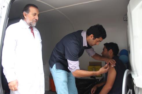 vacunatorio móvil