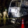 Diversas reacciones provocó el atentado incendiario que anoche se produjo en la Ruta 5 sur, en la comuna de Ercilla.