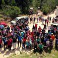Por vez primera se incluyó a un grupo de personas en situación de discapacidad en este recorrido que hizo cumbre en la Piedra del Águila poco después del mediodía