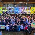 La celebración del primer We Tripantu Mayor tuvo lugar en el gimnasio municipal de Los Sauces.