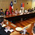 Por cerca de dos horas estuvieron reunidos en la capital de Malleco los seremis junto al Ejecutivo del Gobierno Regional.