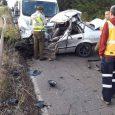 Alrededor de la 08.15hrs se produjo un accidente de tránsito entre un camión con un vehículo menor a la altura del sector Antofagasta, en la ruta Traiguén Los Sauces,